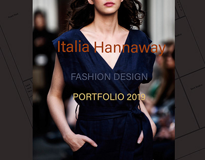Zero Waste Fashion Design Portfolio 2019