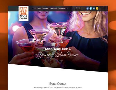 Boca Center - Website Design