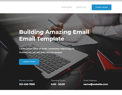 Email template
