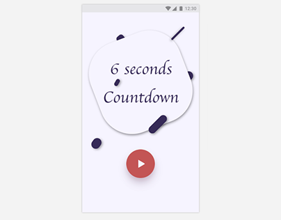 Daily UI#14_Countdown timer_ Material Design