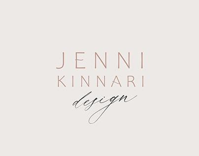Jenni Kinnari Design   Brand identity