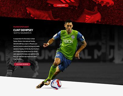Soccer.com Relaunch