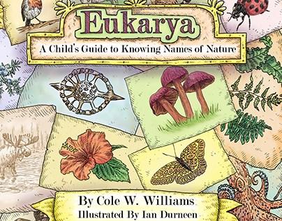 Eukarya : Book Illustration - award winning cover