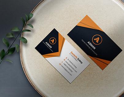 Unique & Modern Business Card