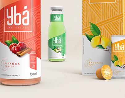 Ybá - Chá Gelado | Branding e Embalagem