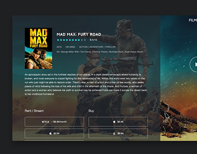 Film Hunt Redesign