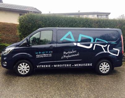 Création du marquage pour le véhicule ADRG