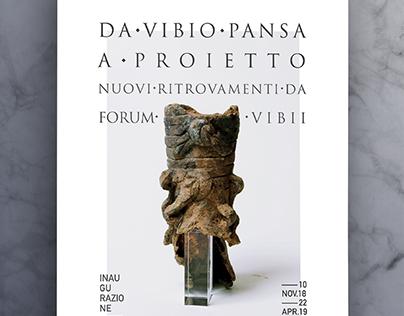 Forum Vibii – Exhibition poster