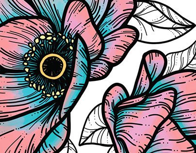 Flowers| Illustration and case