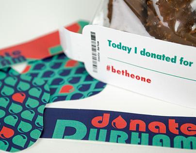 Donate Durham Guerrilla campaign