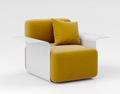 Poltronas Cubo / Cube Armchairs