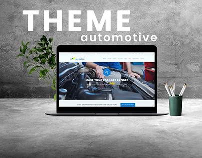 AUTOMOTIVE MAINTENANCE Web Theme