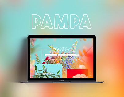 Pampa Paris - Website - Redesign concept