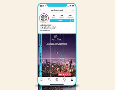 EarthX - Infographic + Instagram Feed