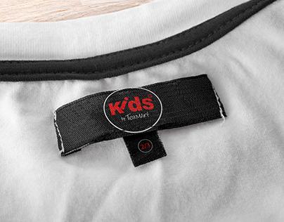 kids woven label