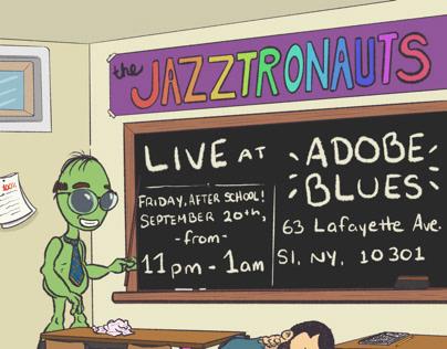 THE JAZZTRONAUTS LIVE: Adobe Blues 9/20