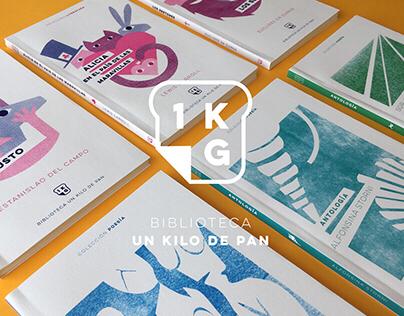 1 KG DE PAN   Colección de libros