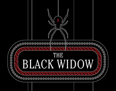 The Black Widow Playing Card Deck