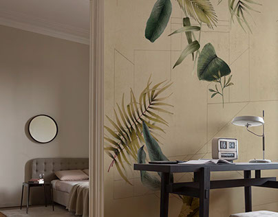 Wall&decò wallpaper design