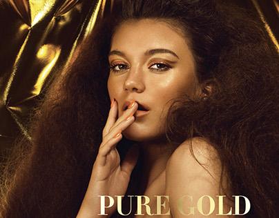 """Pure Gold"" Cabinet De L'art Magazine March'16"