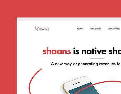Shaans Website