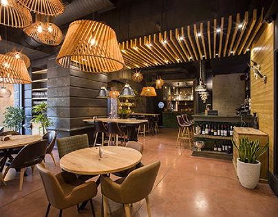 """Alaska Restaurant / """"Archangel Architectural Studio"""""""