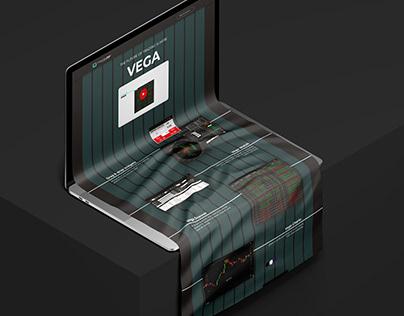 Vega - Landing Page Design