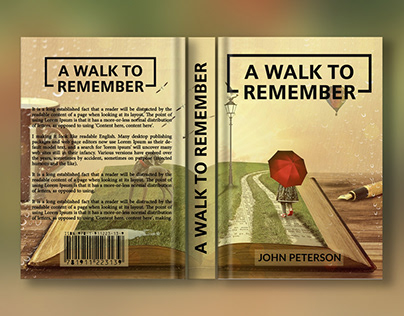 Book Cover Design with Mock-ups
