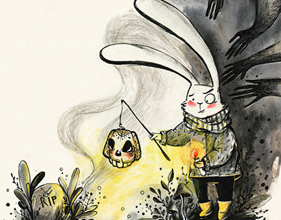 The Story of the Little Rabbit. Inktober