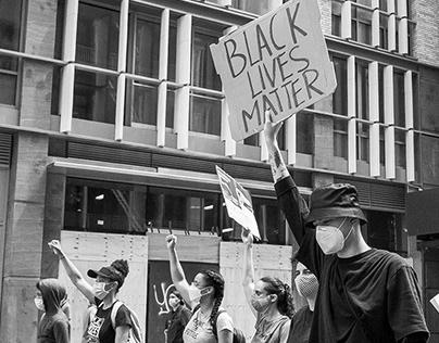 Washington Sq Park Protests // NYC // 6.2020