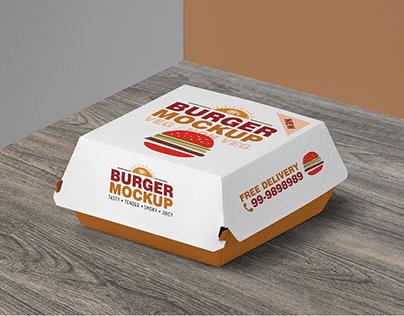 15+ Best Burger Box Packaging PSD Mockup Templates