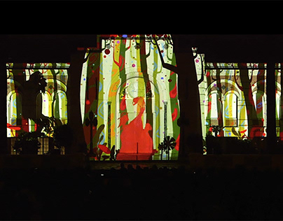 Frankenstein Projection mapping