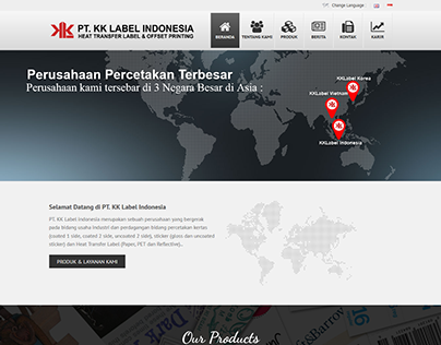 Company Profile Web Design