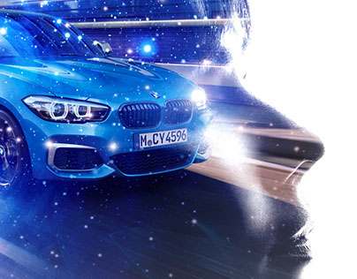 BMW Dream Car Advertising Concept Art
