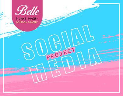 Social media (BELLE Home & Kids Wear)