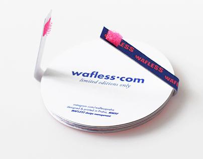 WAFLESS — kartičky, promo limited