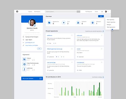 Github Profile Page