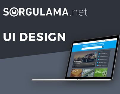 Sorgulama.net UI Design