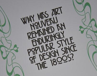 Art Nouveau Dissertation