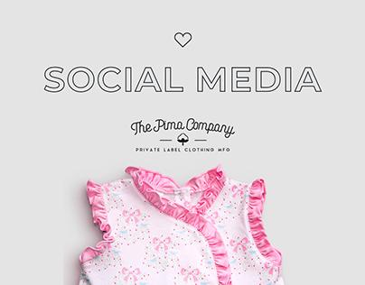 Social Media - Pima Company