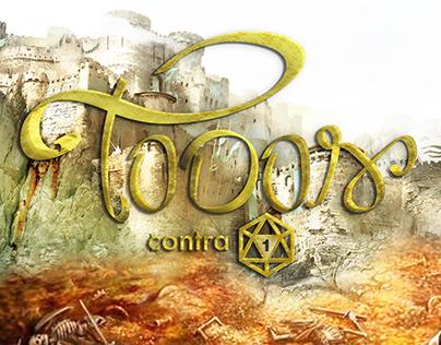 Lettering/Logo para um grupo de jogos de RPG