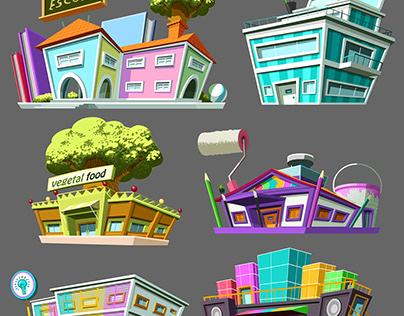 Game ''Cidade dos Famosos'' - 2012