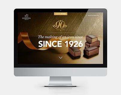 Godiva - Responsive Digital Magazine