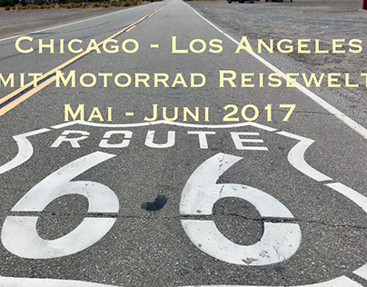 Route 66 Harley Tour