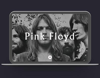 Design Pink Floyd website