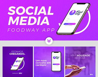 Social Media | Foodway App