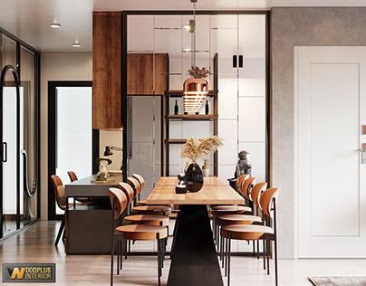 Thiết kế nội thất chung cư Ocean Park