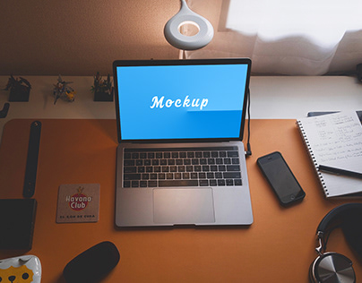 Macbook Pro Mockup v2.5 2019 PSD Download