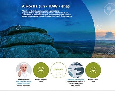 Website Redesign for A Rocha USA