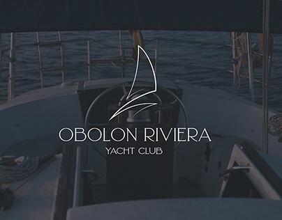 Obolon Riviera | small identity